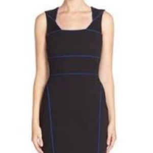 Bailey 44 'Andy' Ponte Sheath Dress Black